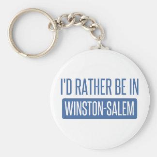 Chaveiro Eu preferencialmente estaria em Winston-Salem