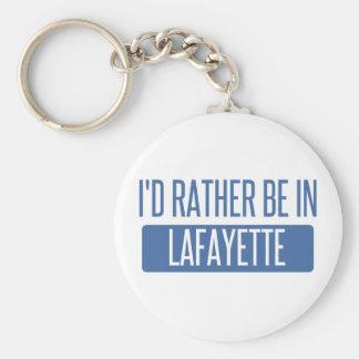 Chaveiro Eu preferencialmente estaria no LA de Lafayette