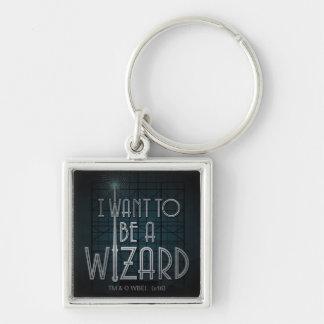 Chaveiro Eu quero ser um feiticeiro