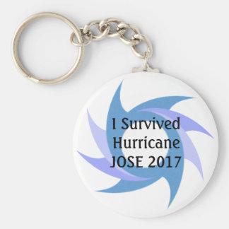 Chaveiro Eu sobrevivi à CORRENTE CHAVE do botão de JOSE