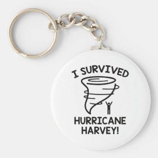 Chaveiro Eu sobrevivi ao furacão Harvey