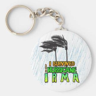 Chaveiro Eu sobrevivi ao furacão Irma