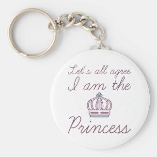 Chaveiro Eu sou a princesa