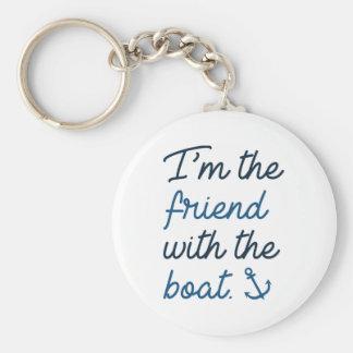 Chaveiro Eu sou o amigo com o barco