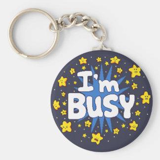 Chaveiro Eu sou ocupado
