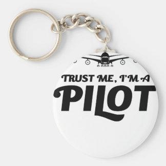 Chaveiro Eu sou um piloto