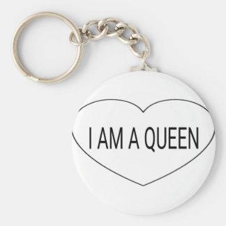 Chaveiro Eu sou uma rainha