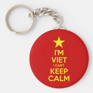 Chaveiro Eu sou Viet que eu não posso manter a calma