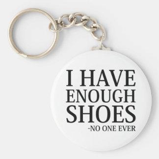 Chaveiro Eu tenho bastante calçados