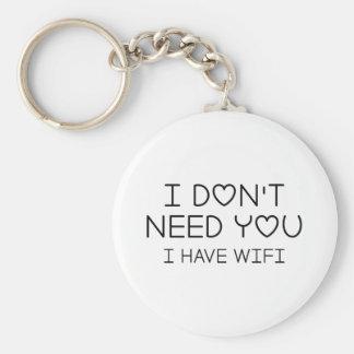 Chaveiro Eu tenho Wifi