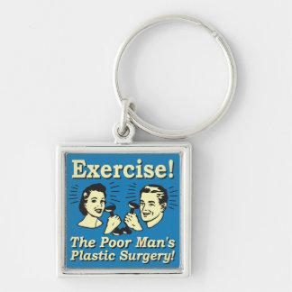 Chaveiro Exercício - a cirurgia plástica do pobre homem