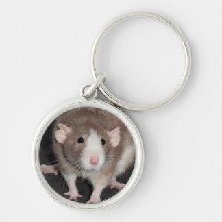 Chaveiro extravagante do metal do rato