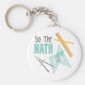 Chaveiro Faça a matemática