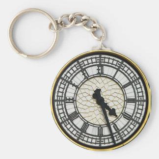 Chaveiro Face do relógio de Big Ben