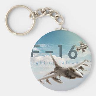 Chaveiro Falcão F-16 de combate