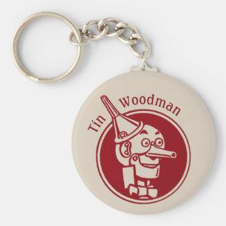 Chaveiro Feiticeiro maravilhoso da cara CC0901 do Woodman
