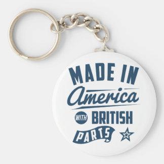 Chaveiro Feito em América com peças britânicas