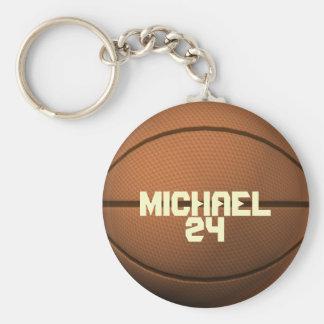 Chaveiro feito sob encomenda do basquetebol do nom
