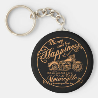 Chaveiro Felicidade - motocicleta