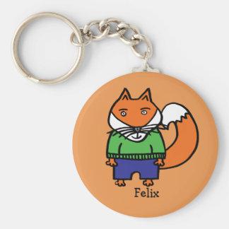 Chaveiro Felix personalizado o Fox