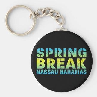 Chaveiro Férias da primavera Nassau Bahamas