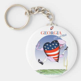 Chaveiro fernandes tony altos e orgulhosos de Geórgia,