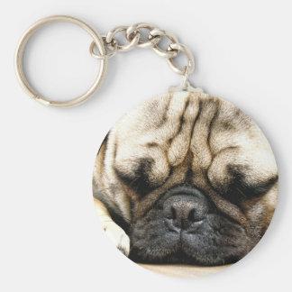 Chaveiro Filhote de cachorro do Pug