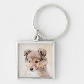 Chaveiro Filhote de cachorro do Sheepdog de Shetland
