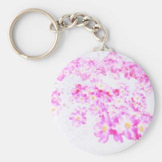 Chaveiro Flor cor-de-rosa do Dogwood