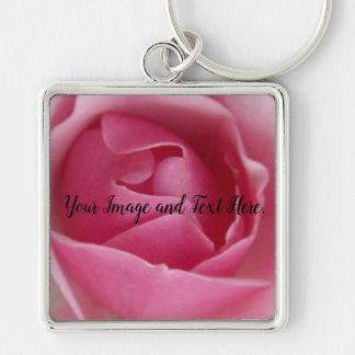 Chaveiro Flor cor-de-rosa que floresce na fotografia da