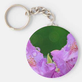 Chaveiro Flor violeta