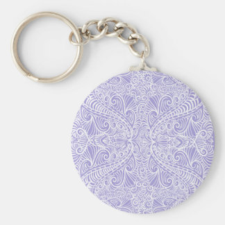 Chaveiro Fluxo elegante do Lilac