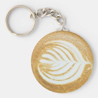 Chaveiro Folha do Froth do café