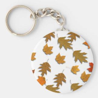 Chaveiro Folhas de bordo do outono