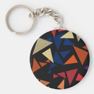 Chaveiro Formas geométricas coloridas