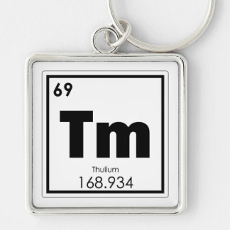 Chaveiro Fórmula da química do símbolo do elemento químico