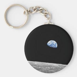 Chaveiro Foto lunar da órbita da lua da NASA Apollo 8