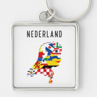 Chaveiro Fotorreceptor holandês das regiões do país do