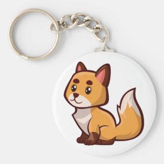 Chaveiro Fox vermelho dos desenhos animados