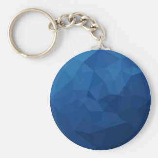 Chaveiro Fundo do polígono do abstrato egípcio do azul