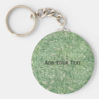 Chaveiro Fundo Textured verde por Shirley Taylor