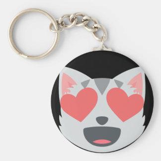 Chaveiro Gato Loving Emoji