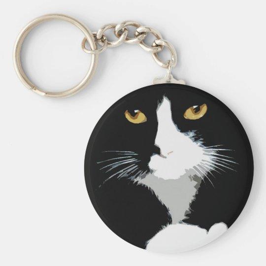 """Chaveiro """"Gato preto"""""""