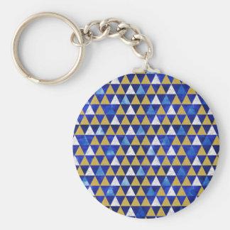 Chaveiro geométrico dos triângulos, geométrico