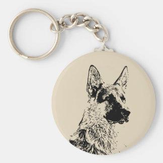 Chaveiro German shepherd