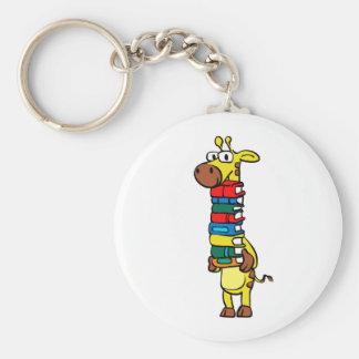 Chaveiro Girafa que guardara livros