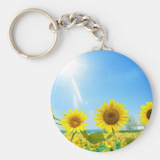 Chaveiro Giraspois (Sunflowers)