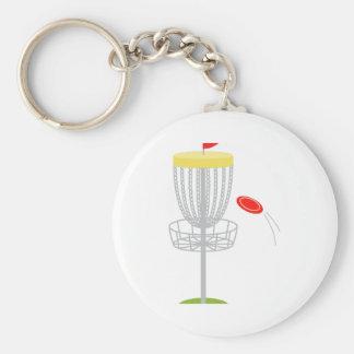 Chaveiro Golfe do disco do Frisbee