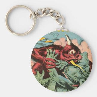 Chaveiro Gorgo e monstro dos Cyclops