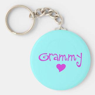 Chaveiro Grammy com coração